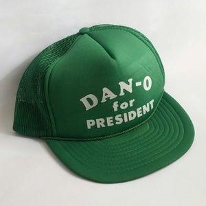 Other - Dan-O For President Vintage Baseball Cap